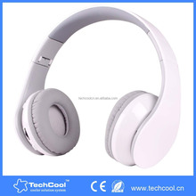 Bluetooth - Stereo Foldable Rechargeable Wireless Headphones with Powerful Bass Built in High Definition Microphone