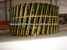 coil nails/ 300pcs/coil -Painted Spiral Shank Pallet Coil Nails