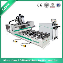 High precision GT-1230D CNC Engraving Machine with 8 Tool slots