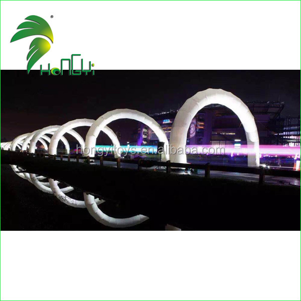 Attractive decoration inflatable arch with led light  (1)