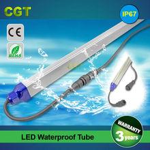 ce rohs certified IP67 LED waterproof tube light 1800mm 30w 100lm/w 3 years warranty