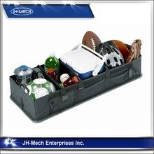 Fully Collapsible and Portable Folding Flat Trunk Organizer- Great for Storing Tools, Maps, Cleaning