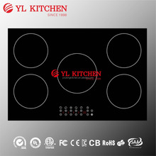 Electric magnetic induction cooktop cooking