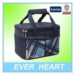 Best selling 2 Persons 600D Oxford 6 can lunch bag box
