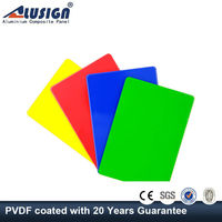 Alusign excellent in cushion effect.out door plastic wall panels fire resistant ceiling tiles