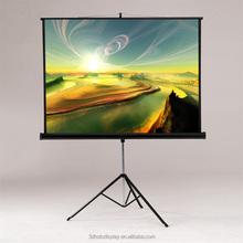 Floor Pull Up Projector Screen / Tripod Proejtcion Screen School&Office Supplier