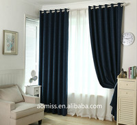 luxury curtain cheap hotel curtains 100% polyester blackout curtain fabric