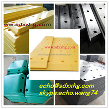 ocean guard UHMWPE marine fender pads with different size and color