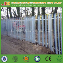 2015 Professional factory Euro style Powder Coated Decorate Steel Palisade Fence