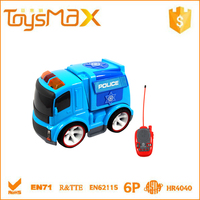 2014 NEWEST Engineering Police RC Model Car, Children Small battery operated plastic toy cars