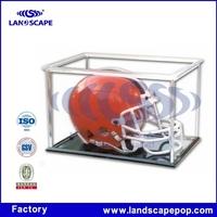 Football Mini Helmet Acrylic Display/football acrylic helmet display case