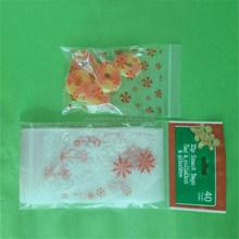 PE zipper top food freezer bag