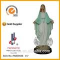 18 pulgadas de venta al por mayor de nuestra señora de gracia católica virgen maría estatua