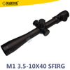 LEUPOLD M1 3.5-10X40 /E SFRG Rifle Scope With Etched Reticle