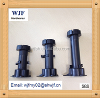 furniture kitchen cabinet accessories plastic adjustable leg
