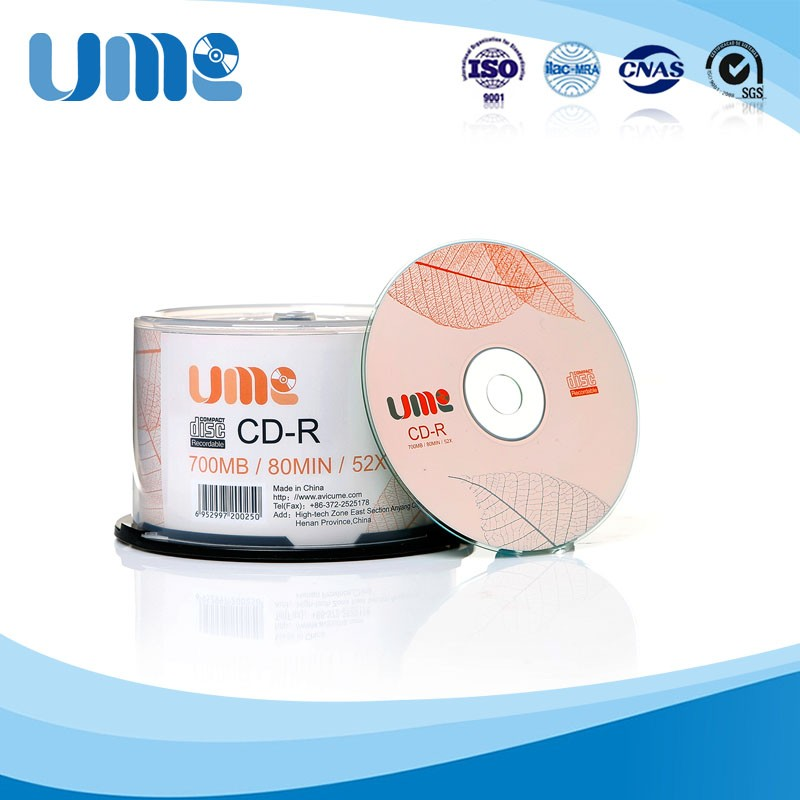 Wholesale Music CDs 700MB 80 Minute CDR Blank Cds Dollar General