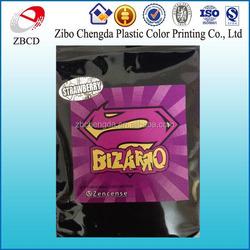 PET/VMPET/PE bizarro zenbio herbal incense bags