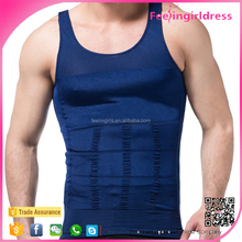 Factory Direct Sale 5 Colors Tummy Shaper Slimming Men Underwear Vest