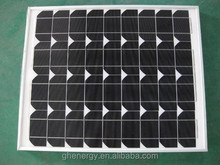 2015 Hot 50W 18V Mono Solar Panel with Full Certificate for Solar System