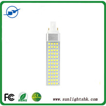 High quality perfect heat sink clear pc cover 11w g23 led pl lights