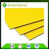 Greenbond natural stone cladding low cost wall panels aluminum composite sheet