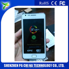 "3G WCDMA Phone 4.3"" Dual Sim Cards Dual Standby quad core phone big screen china mobile phone i9100"