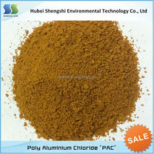 30% polyaluminium chloride /pac for water treatment chemicals