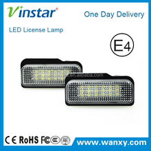 Factory direct selling ben z w203 5D number license plate light with super bright one day delivery