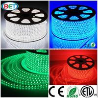 good quality AC100V-120V,220V-240V CE ROHS SMD 5050 5060 waterproof led strip with RGB IR RF DMX controller