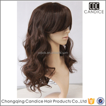 Factory Price High Quality Wavy Thin Skin Perimeter Full Lace Wigs
