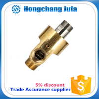 2 inch brass thread connect fitting hydrualic water rotary union joint