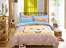 Winnie bear printed 100% Polyester disperse fabric for children's home textile