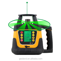 400HVG LCD Display Rotary Laser Level Green Laser Beam Laser Level with Dry Cell Pack