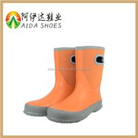 Ladies Hunting style Rubber Rain Boots Natural Rubber boots