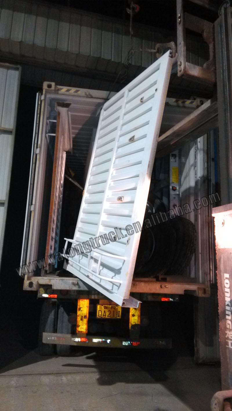 100 ton hydraulic detatchable gooseneck trailer