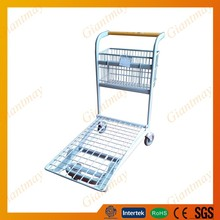 Basket back hanging warehouse flatbed tricycle cargo cart