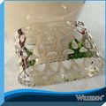 plateado servilleta de la decoración de la boda anillo de servilleta