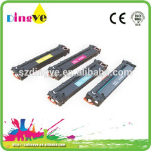 Large inventory Laser Toner Cartridge Compatible for HP CB540 CB541 CB542 CB543A with low price