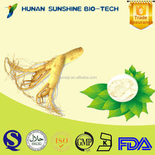 100% natural anti cancer drugs Panax ginseng root extract