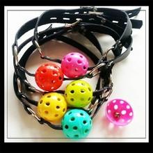 Actualización de cinco colores verison el tapón de la boca de malla con la campana / boca llena / adultos divertidos juguetes sexuales
