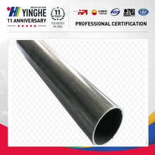 Chinese manufacturer hot dipped round galvanized tube