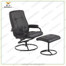 WorkWell cheap high back leather recliner chairs in living room KW-R04a
