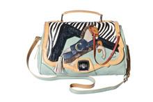 Pony shoulder ladies bag handbag cross body bag messenger bag AG1516841MIN