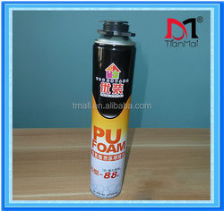 Hot sales! 750ml 500ml aerosol expanding PU sealing foam can sealant