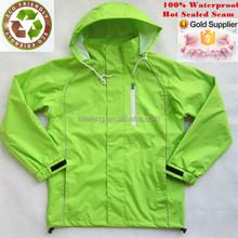 Waterproof reflecting light rain jacket 10000mm