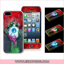World Cup England Team Flag Print Silicone & Plastic Protective Case for iPhone 5S 5
