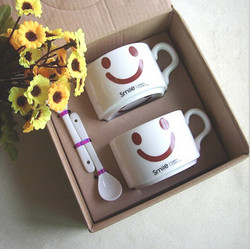 Ceramic coffee cup with spoon,coffee sets
