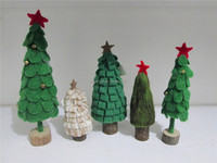 100% pure wool NEW fashion modern christmas trees 2015 christmas home decoration