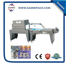 Design professional shrink wrapping package machine