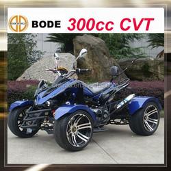 cvt 300cc street legal atv 4x4